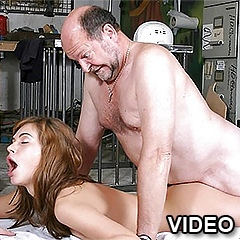 Daughter fucked in doggy style